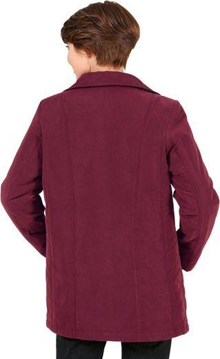 Classic Basics Jacke mit Umlegekragen
