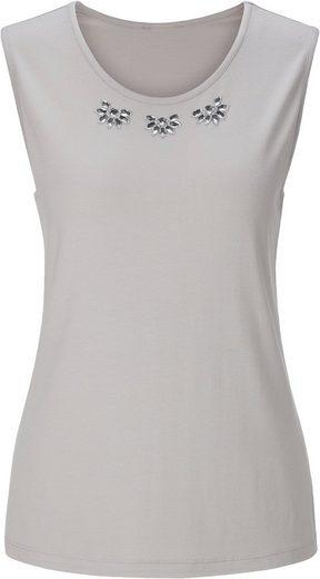 Lady Shirttop mit breiten Trägern