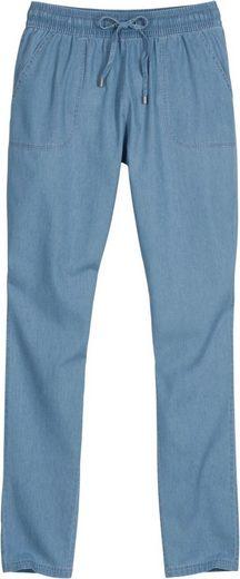 Collection L. Pantalon Avec Ceinture Élastique Froncée