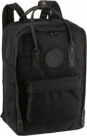 Fjällräven Laptoprucksack »Kanken No. 2 Laptop, black«, mit Laptopfach