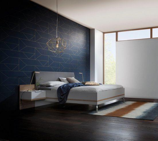 nolte® Möbel Schlafzimmer-Set »concept me 220«, (Bett, Drehtürenschrank und 1. bzw. 2 Nachttischen)