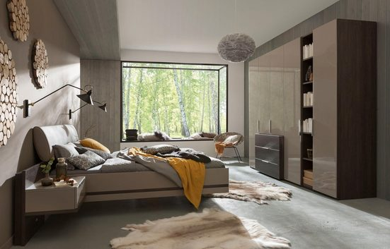 nolte® Möbel Schlafzimmer-Set »concept me 100«, Bett in drei Breiten verfügbar