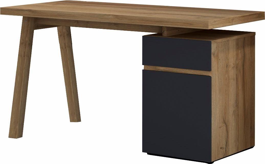 Schreibtisch »Slide« | Büro > Bürotische > Schreibtische | Weiß - Glanz | Wabenplatte - Spanplatte - Mdf - Melamin | HMW