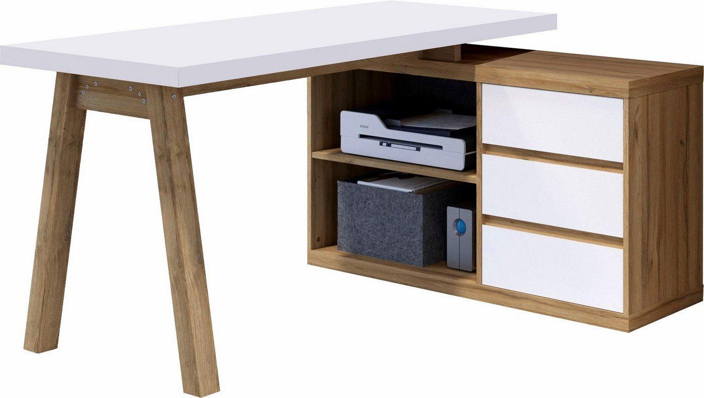 winkelschreibtisch weiss machen sie den preisvergleich bei nextag. Black Bedroom Furniture Sets. Home Design Ideas