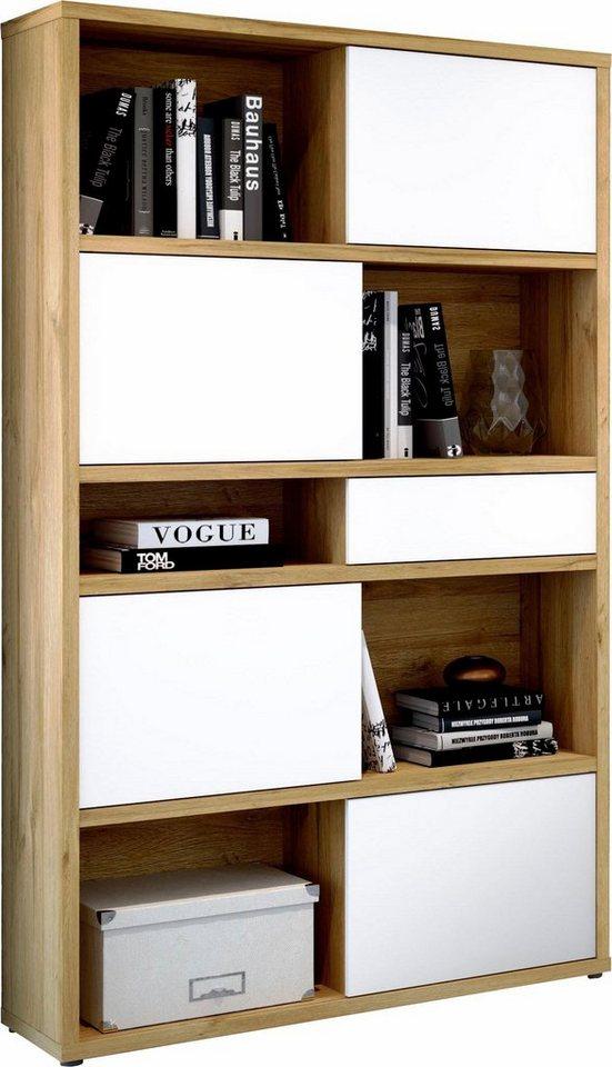 regal slide mit r ckwand und schiebefronten otto. Black Bedroom Furniture Sets. Home Design Ideas