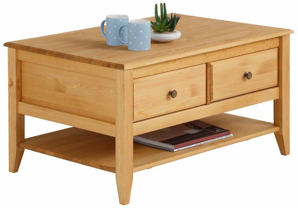 home affaire couchtisch leoinis mit 4 schubladen breite 89 cm online kaufen otto. Black Bedroom Furniture Sets. Home Design Ideas