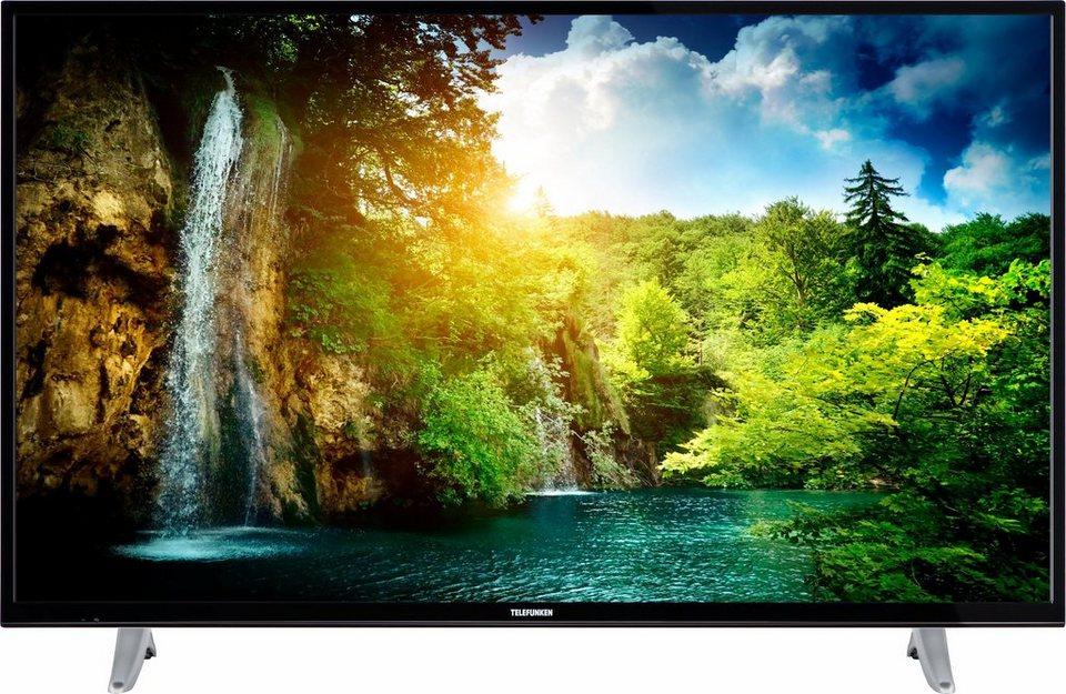 telefunken d50u600m4cw led fernseher 127 cm 50 zoll 4k ultra hd smart tv 36 monate garantie. Black Bedroom Furniture Sets. Home Design Ideas