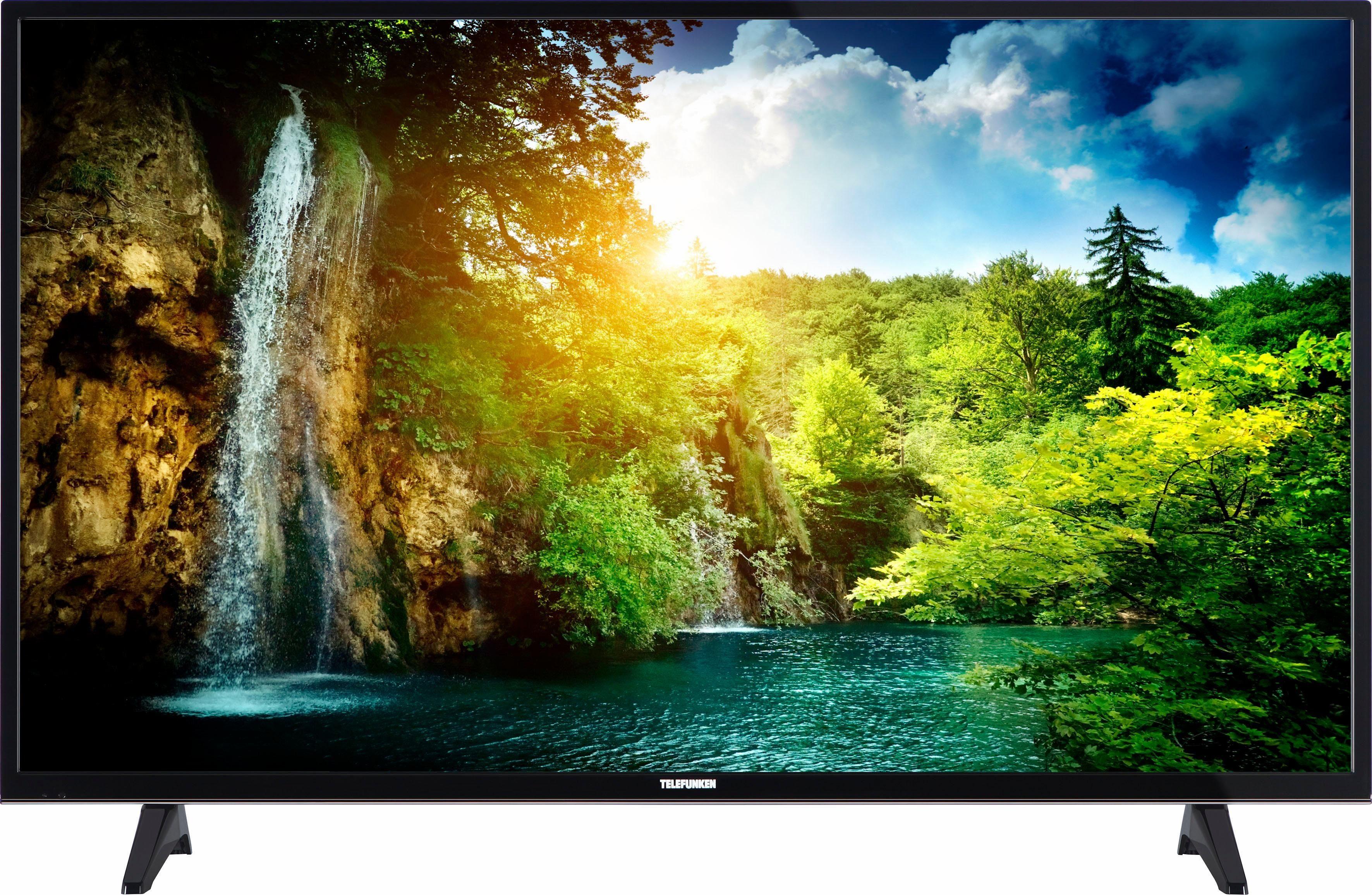 Telefunken D49U297N4CW LED-Fernseher (124 cm/49 Zoll, 4K Ultra HD, Smart-TV)