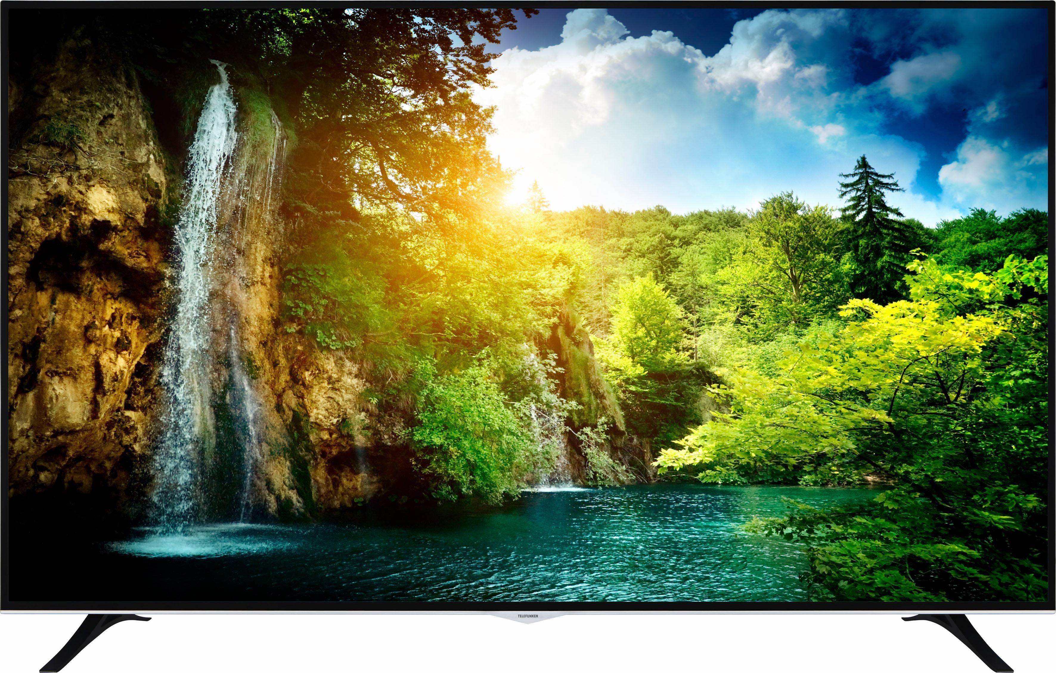 Telefunken D75U400M4CW LED-Fernseher (190 cm/75 Zoll, 4K Ultra HD, Smart-TV)