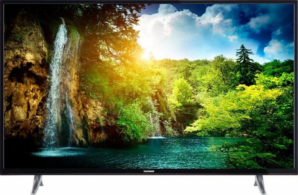 Telefunken D55U600M4CW LED Fernseher 139 Cm 55 Zoll 4K Ultra HD