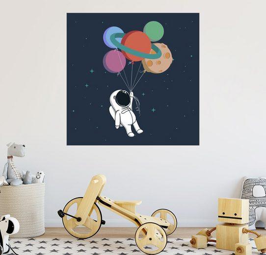 Posterlounge Wandbild - Kidz Collection »Weltraum Reise«