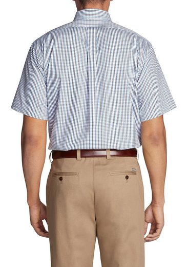 Eddie Bauer Knitterarmes Pinpoint-Kurzarm-Oxfordhemd - Relaxed Fit -...