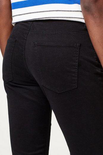 ESPRIT Capri-Pants aus softem Baumwoll-Stretch-Mix