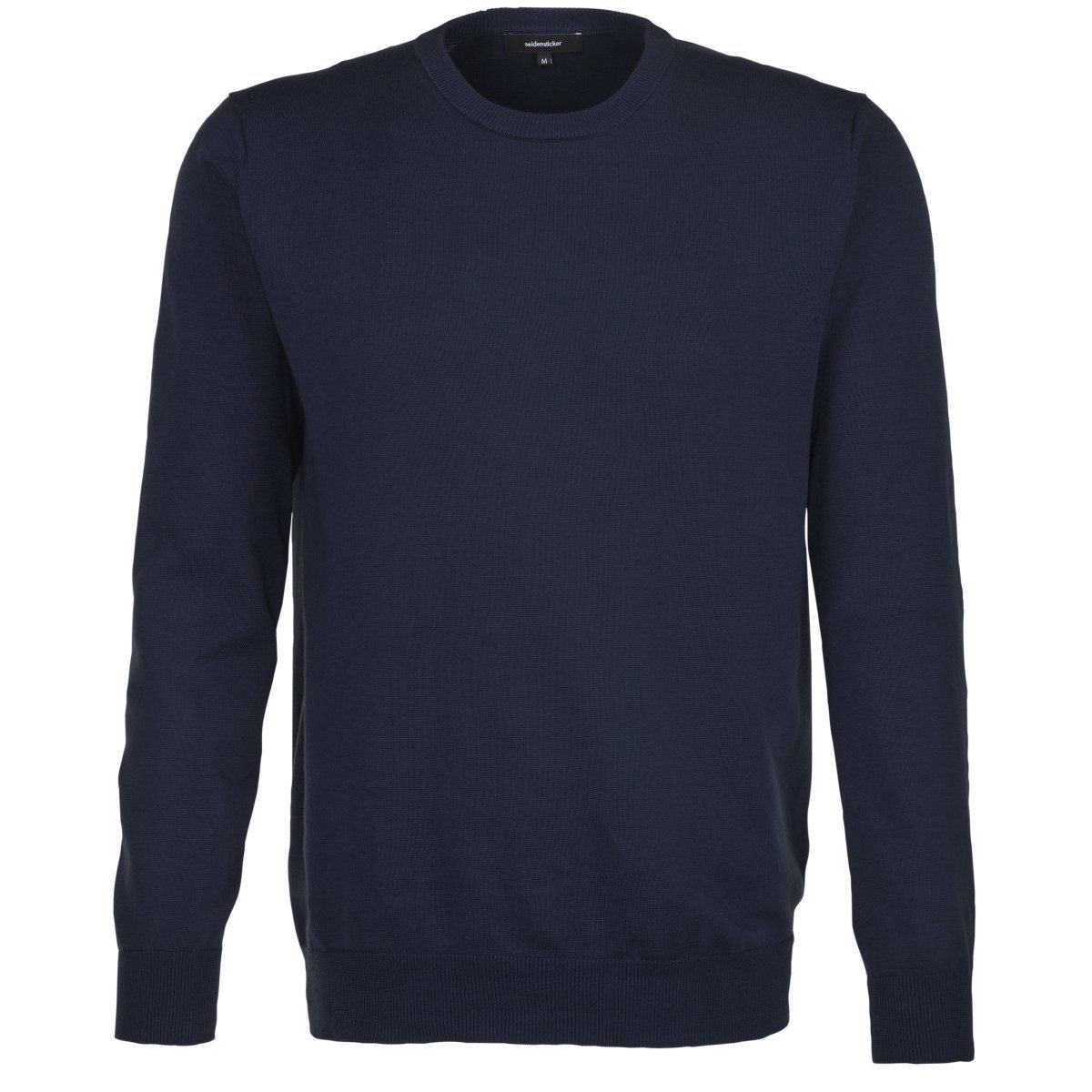 seidensticker Rundhalspullover »Schwarze Rose« Rundhals | Bekleidung > Pullover > Rundhalspullover | Blau | seidensticker