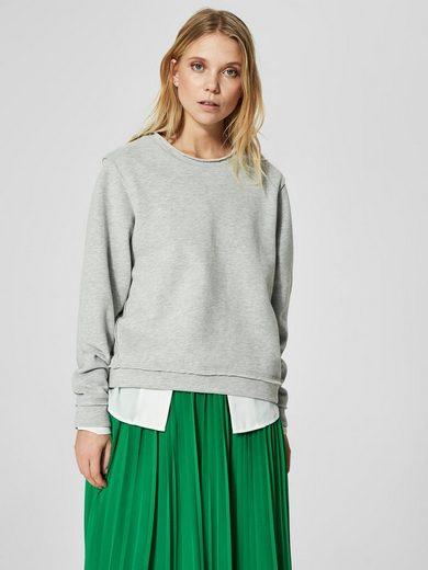 Selected Femme Loose-fitting Sweatshirt
