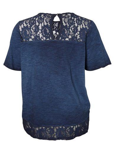 JUNAROSE Spitzen Bluse
