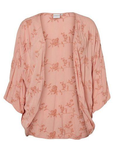 JUNAROSE Blumenstickerei Kimono