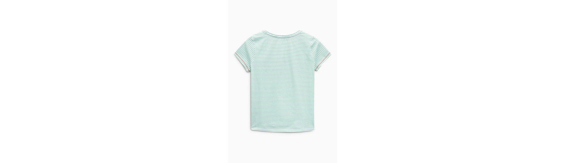 Next T-Shirt mit Print Auslass Besuch Neu E5uPBdx
