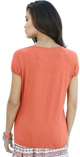 Classic Inspirationen Shirt mit hochwertiger Spitze