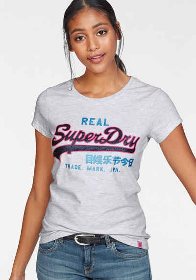 Superdry Print-Shirt »VINTAGE LOGO NEON ENTRY TEE« mit Logo-Print in 6d213cb399