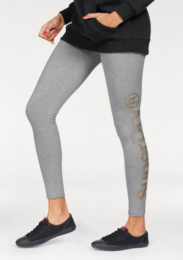 superdry leggings sd sparkle skater leggings mit. Black Bedroom Furniture Sets. Home Design Ideas