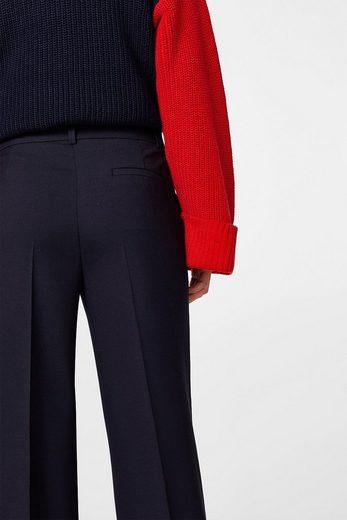 EDC BY ESPRIT Bundfalten-Hose mit Stretchkomfort