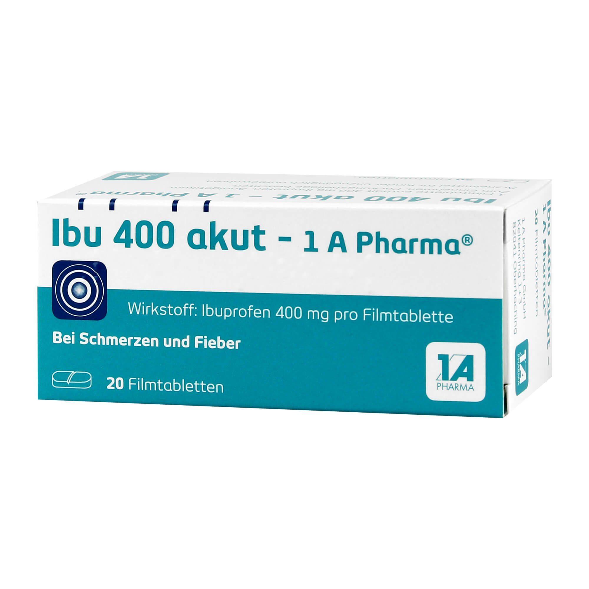 Ibu 400 akut - 1 A Pharma, 20 St