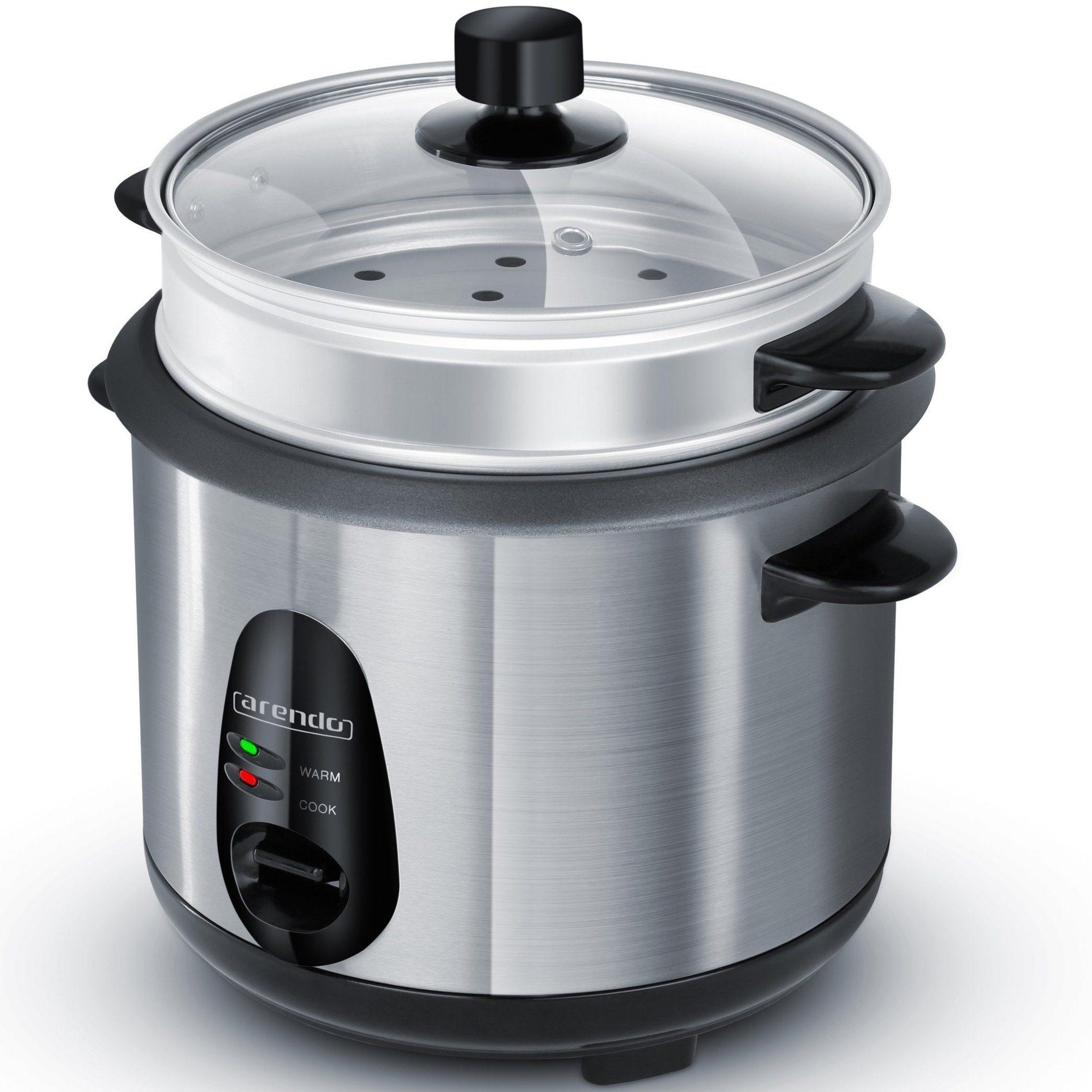 Arendo Reiskocher mit automatischer Koch und Wärm- Funktion »EDO 1 LITER«