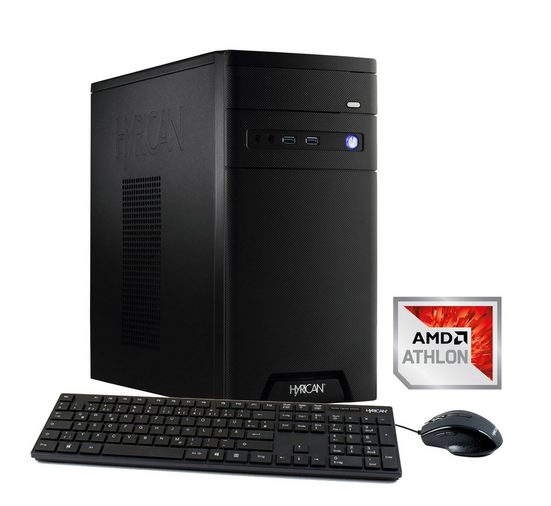 Hyrican CyberGamer Athlon X4 950 8GB 1TB GeForce® GTX 1050 »Cyber Gamer 5851«
