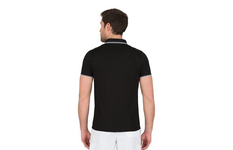 TRIGEMA Slim-Fit Poloshirt mit Ringelstrickkragen Spielraum Günstig Online Echt Versandrabatt Authentisch Rabatt Aus Deutschland AuEBCJ