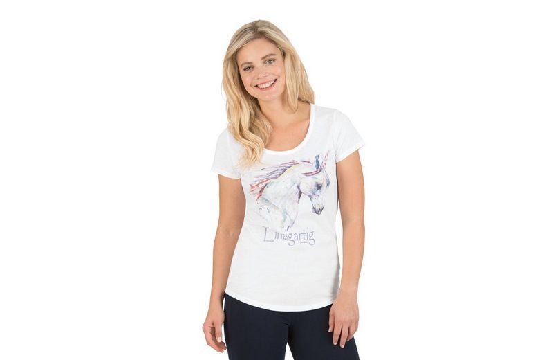 TRIGEMA T-Shirt mit Einhorn Countdown Paket Günstiger Preis 5c1ZZmcrIc