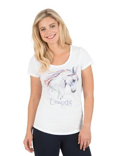 TRIGEMA T-Shirt mit Einhorn