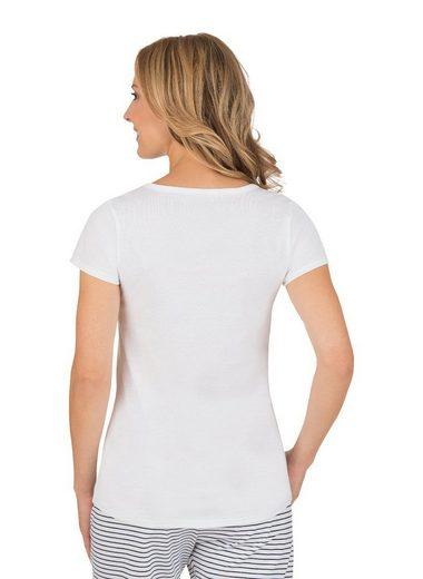 TRIGEMA T-Shirt mit Spruch