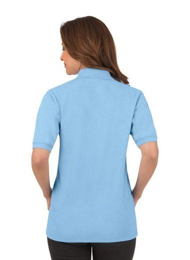 TRIGEMA Melange Poloshirt in Piqué-Qualität