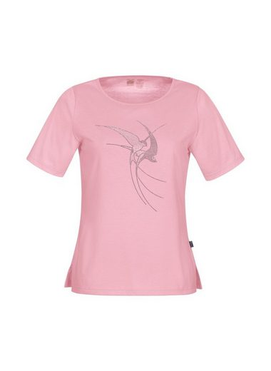 TRIGEMA T-Shirt mit Glitzer Schwalben