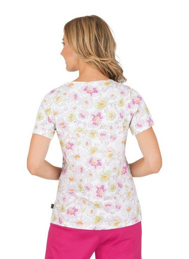 TRIGEMA T-Shirt Blumenwiese