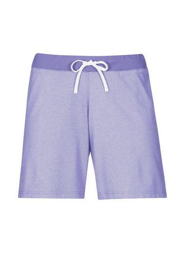 TRIGEMA Shorts mit Wabenmuster