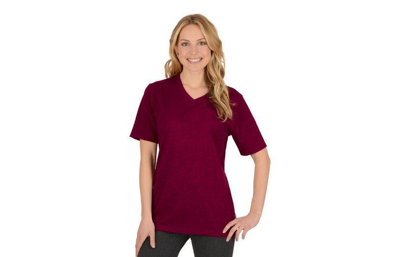 TRIGEMA Melange V-Shirt DELUXE Baumwolle Starttermin Für Verkauf Freies Verschiffen 2018 Neueste Erstaunlicher Preis snDNKHC