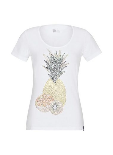 TRIGEMA T-Shirt mit Glitzer Ananas