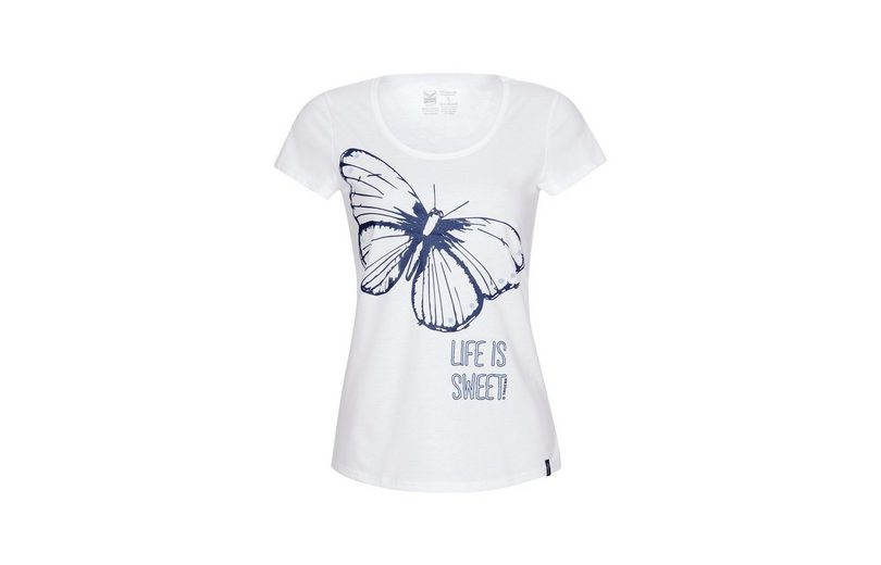 Abstand Rabatt TRIGEMA T-Shirt mit Schmetterling Auslasszwischenraum 2018 Neueste Online-Verkauf Billig Verkauf Versand Niedriger Preis Gebühr Q0GMyUTz