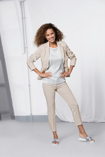 Bianca Jack Blazer Zoe, Classic Blazer From Satin Cotton