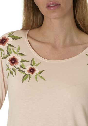 Betty & Co Shirt With Floral Embroidery