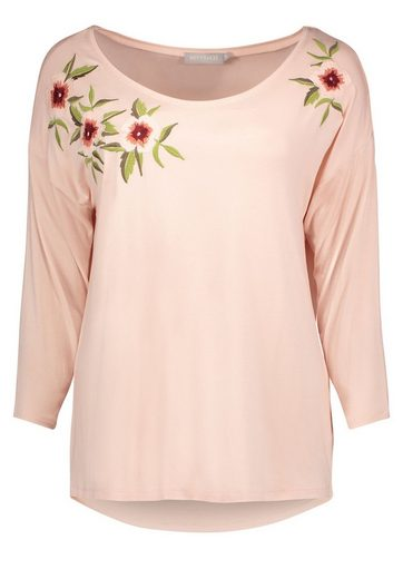 Betty&Co Shirt mit Blumenstickerei