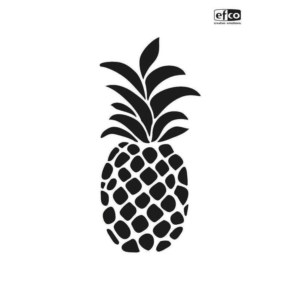 """Schablone """"Ananas"""" DIN A4 online kaufen"""