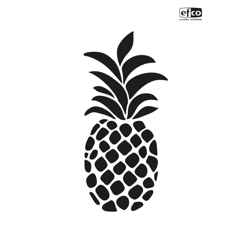 """Schablone """"Ananas"""" DIN A4"""