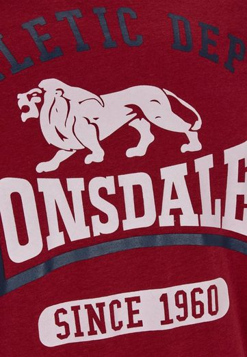 Lonsdale T-shirt With A Sporty Front Print