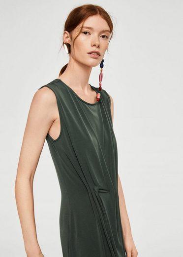 MANGO Kleid mit plissiertem Detail