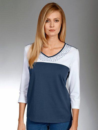 Paola Shirt mit schöner Steinchenverzierung