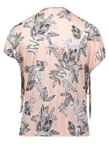 Betty&Co Shirt mit floralem Allover Print