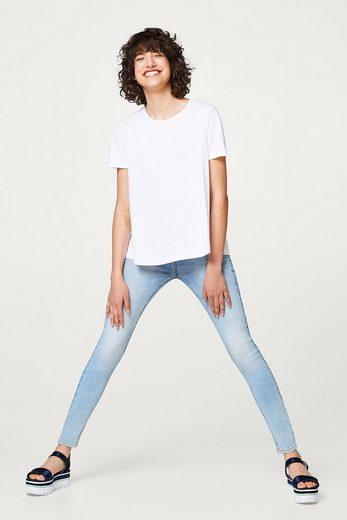Esprit Swinging A-line Shirt In Lightweight Jersey
